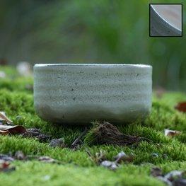 Handgemaakte Matcha beker (wit)