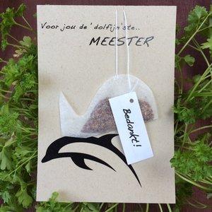 Bedankje Meester